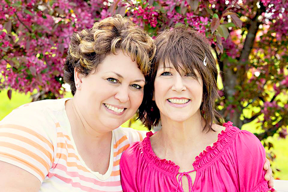 Tricia Seamans and Tricia Somers