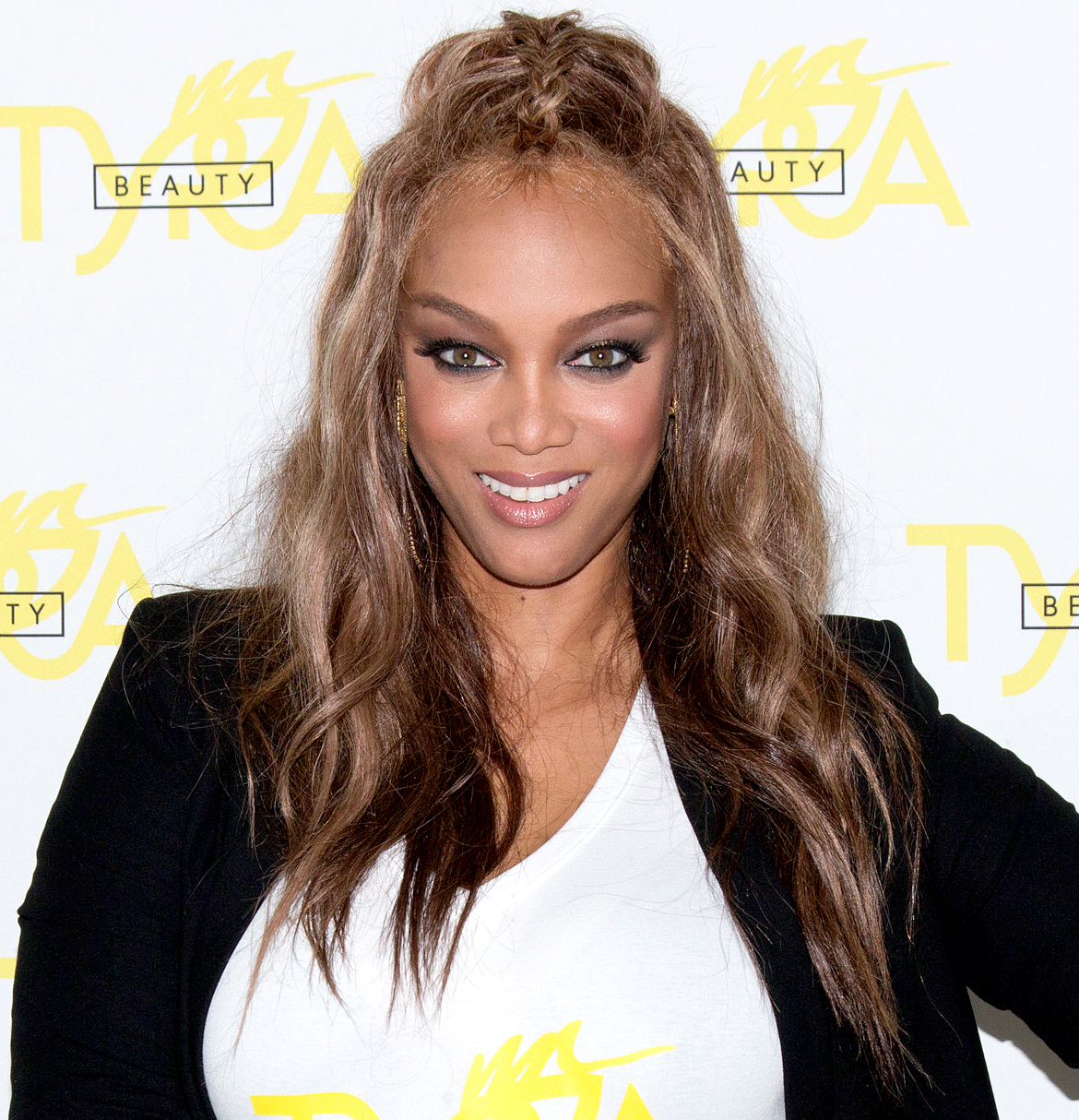 Tyra Banks attends the Fourth Annual Beautycon Festival Los Angeles at the Los Angeles Convention Center on July 9, 2016.