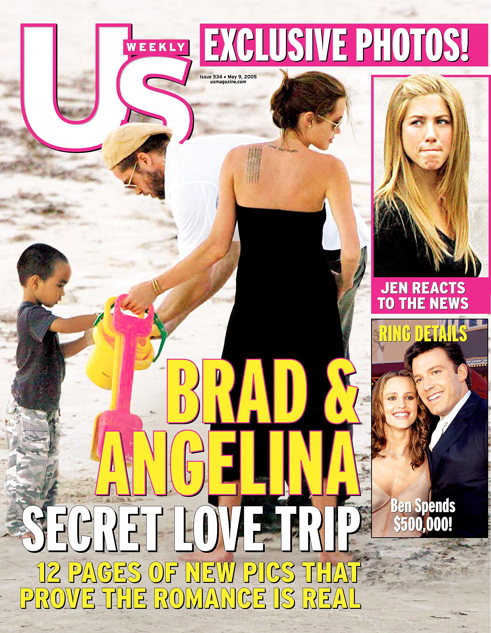 Angelina Jolie and Brad Pitte