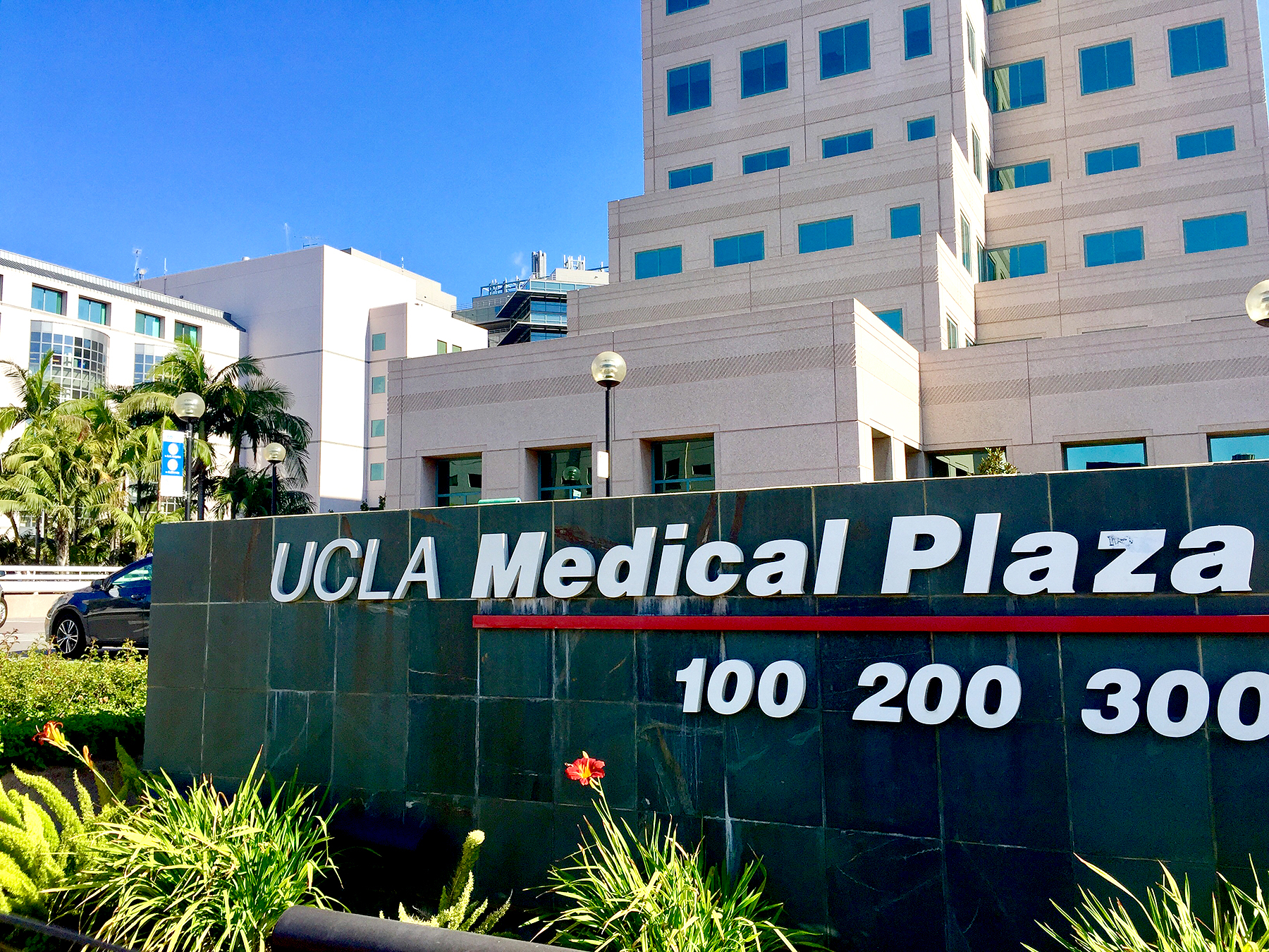 General Views of UCLA Medical Center where Beyonce reportedly gave birth to twins.