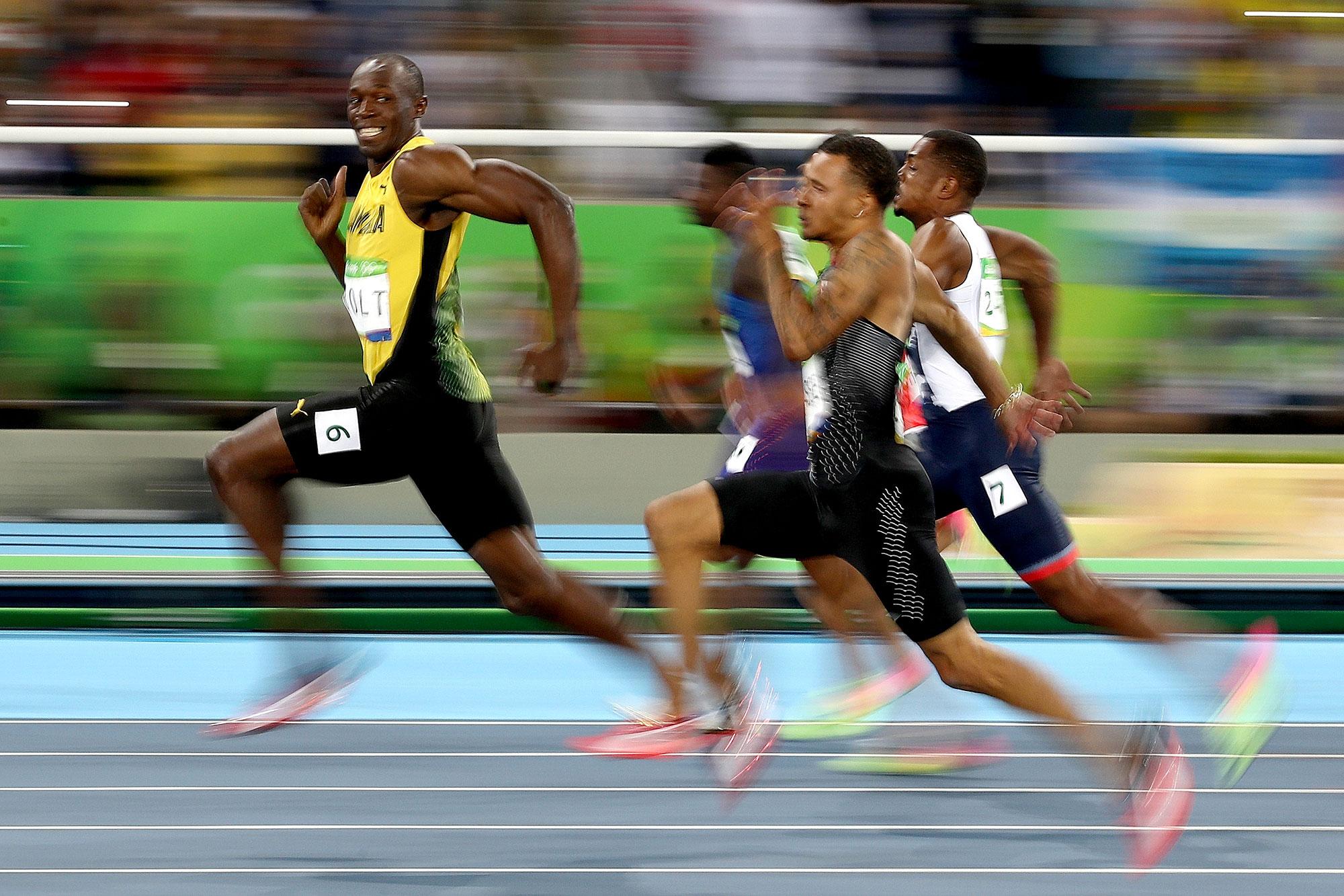 Ellen DeGeneres S Meme Of Usain Bolt Accused Of Being Racist