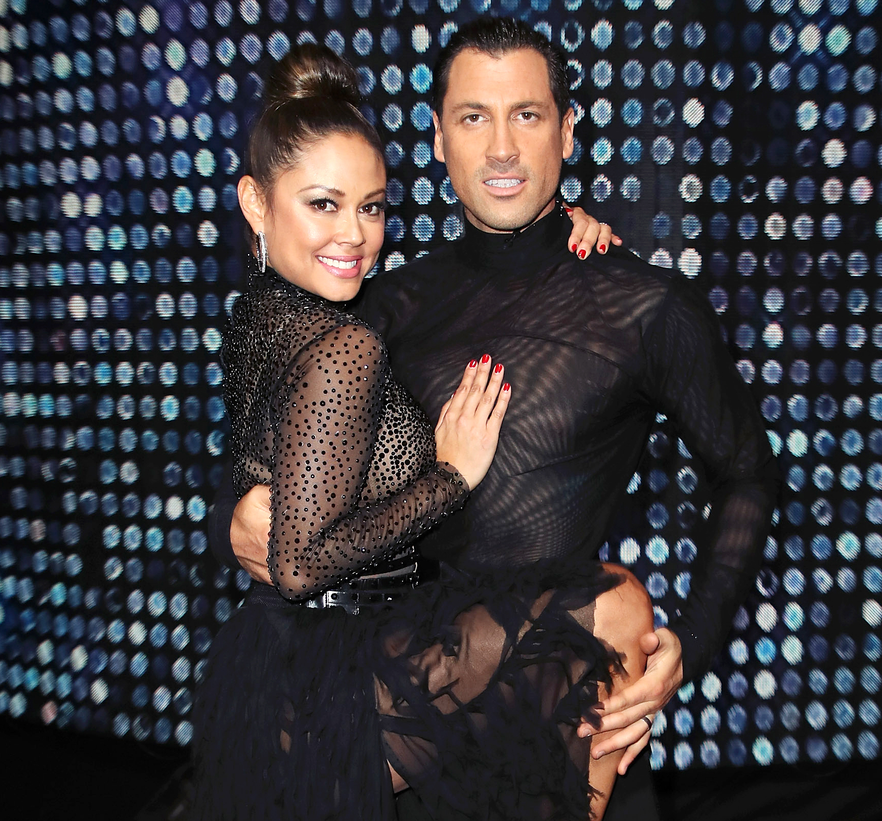 Vanessa Lachey Maksim Chmerkovskiy Dancing With The Stars