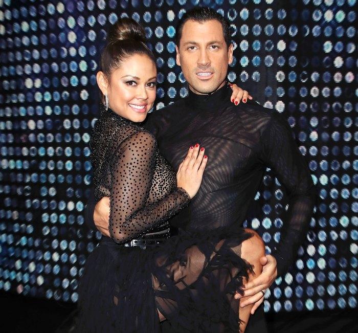 Vanessa Lachey Maksim Chmerkovskiy Dancing With The Stars
