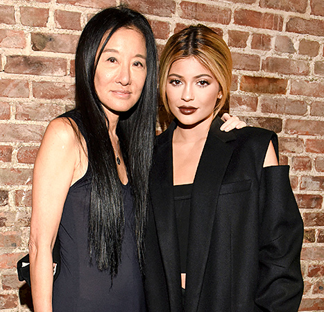 Vera Wang and Kylie Jenner - NYFW