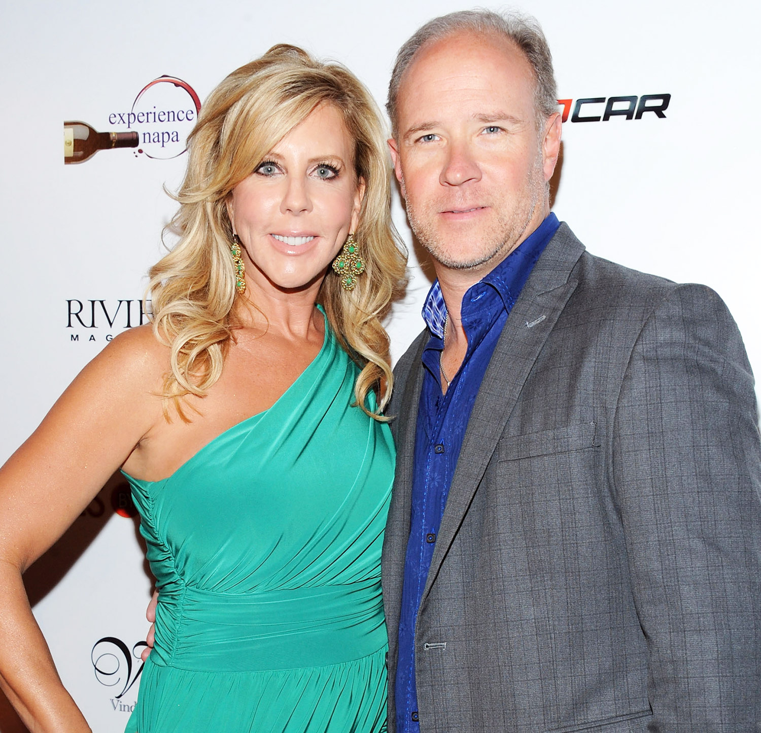 Vicki Gunvalson and Brooks Ayers