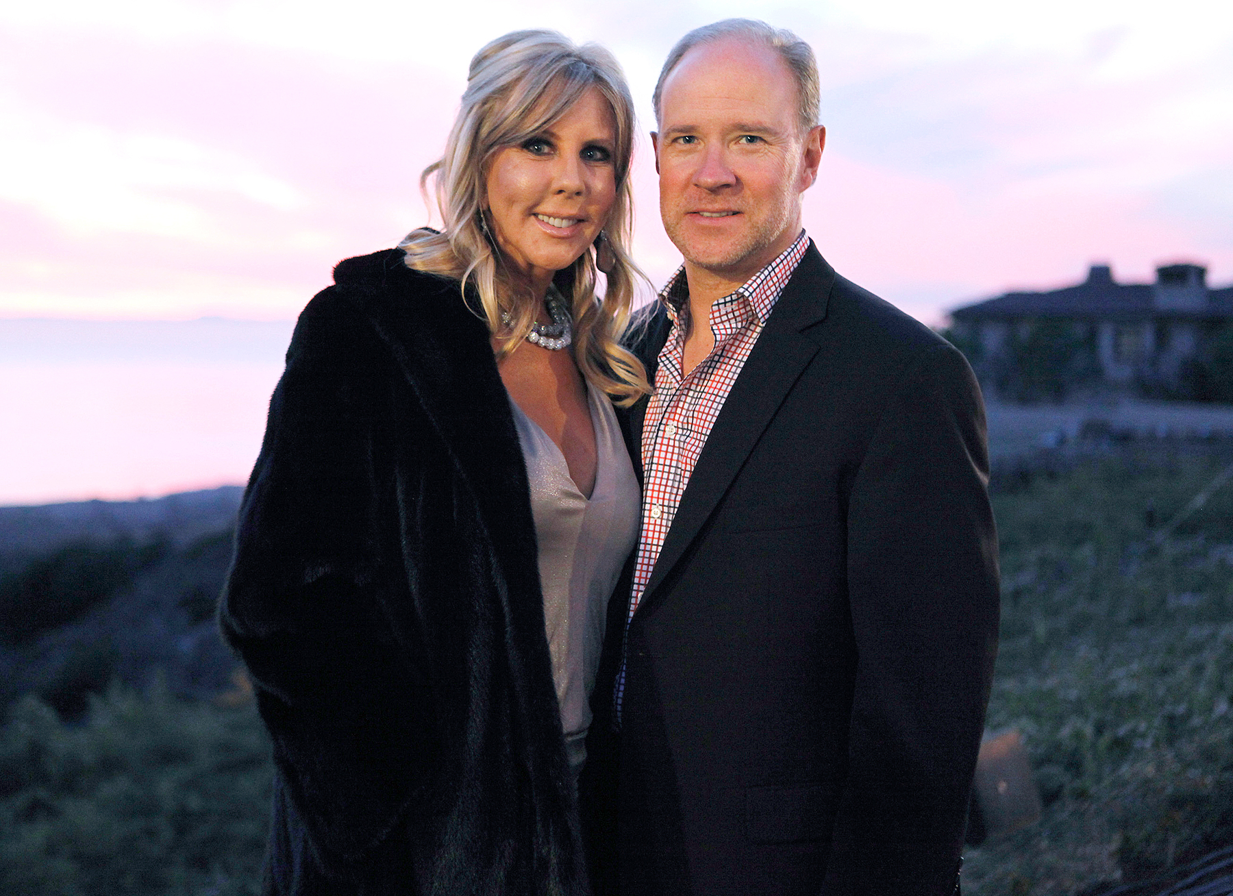 Vicki Gunvalson and Brooks Ayers on The Real Housewives Of Orange County.