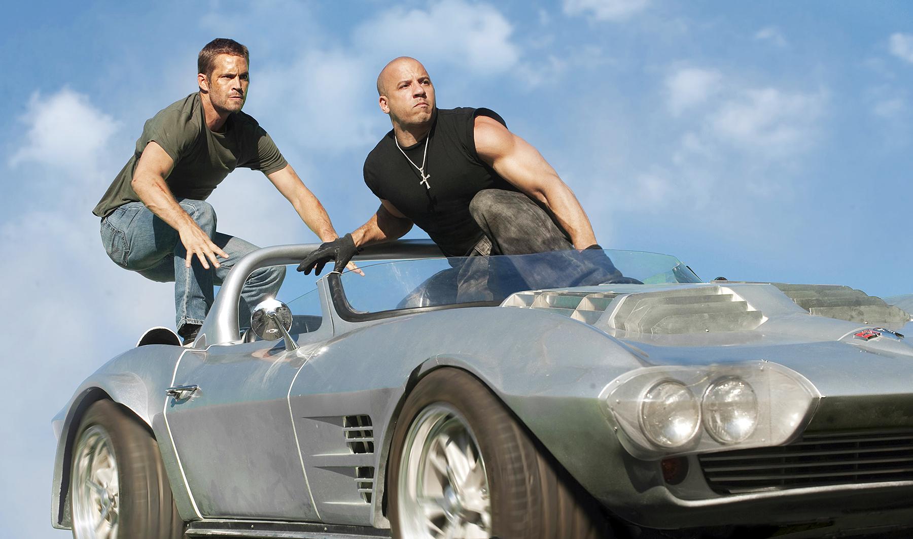 Paul Walker Vin Diesel Fast Five