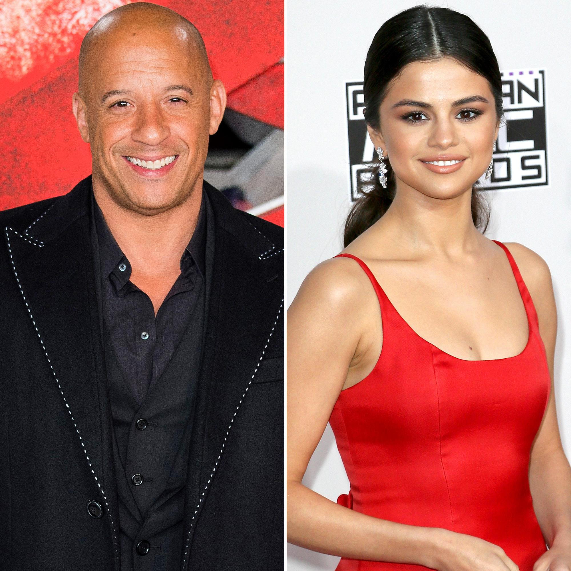 Vin Diesel and Selena Gomez