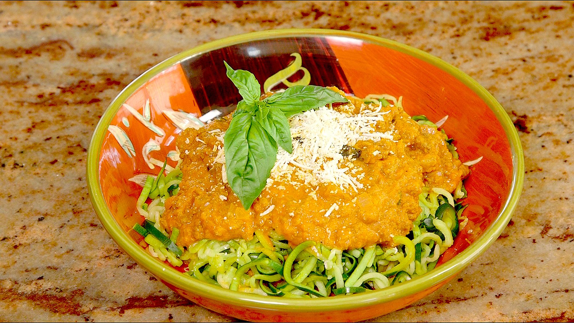 Vinny's Zucchini Noodles