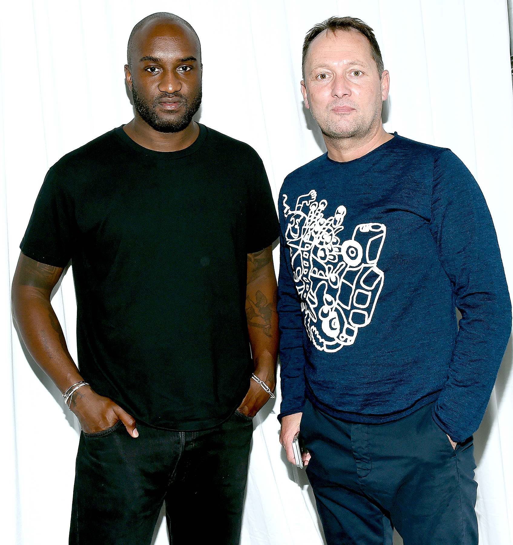 Virgil Abloh and Henrik Most