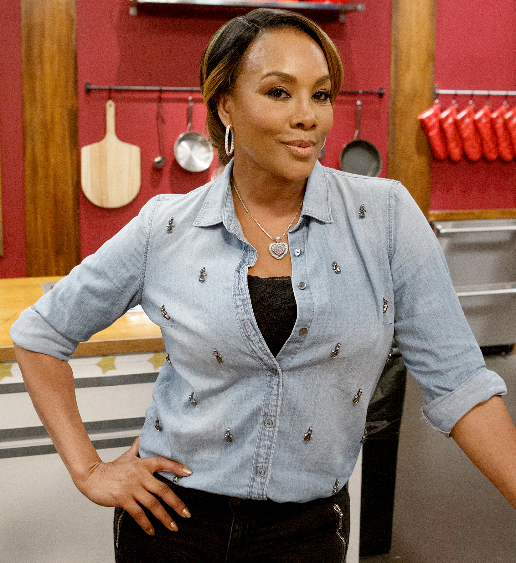 Vivica A. Fox on Worst Cooks In America