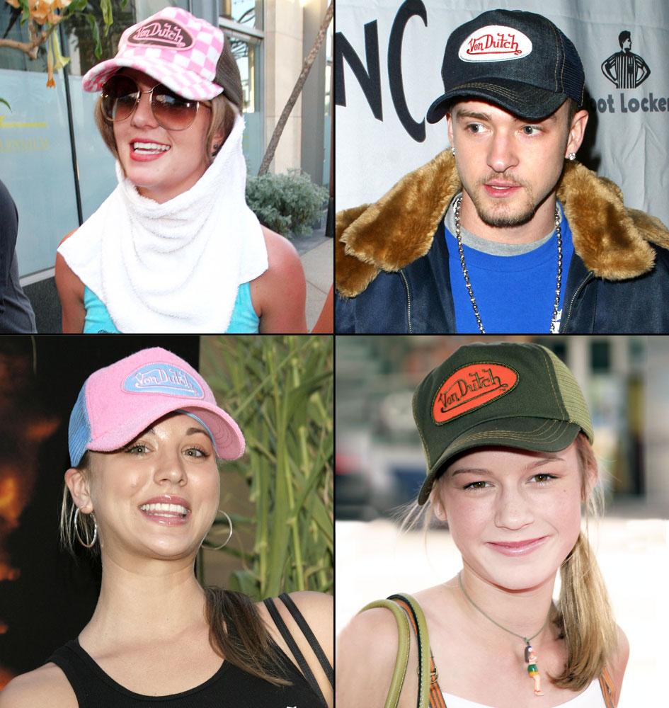 Kylie Jenner Models early-2000s Von Dutch Trucker Hat  Photo 7ddb5bbff00