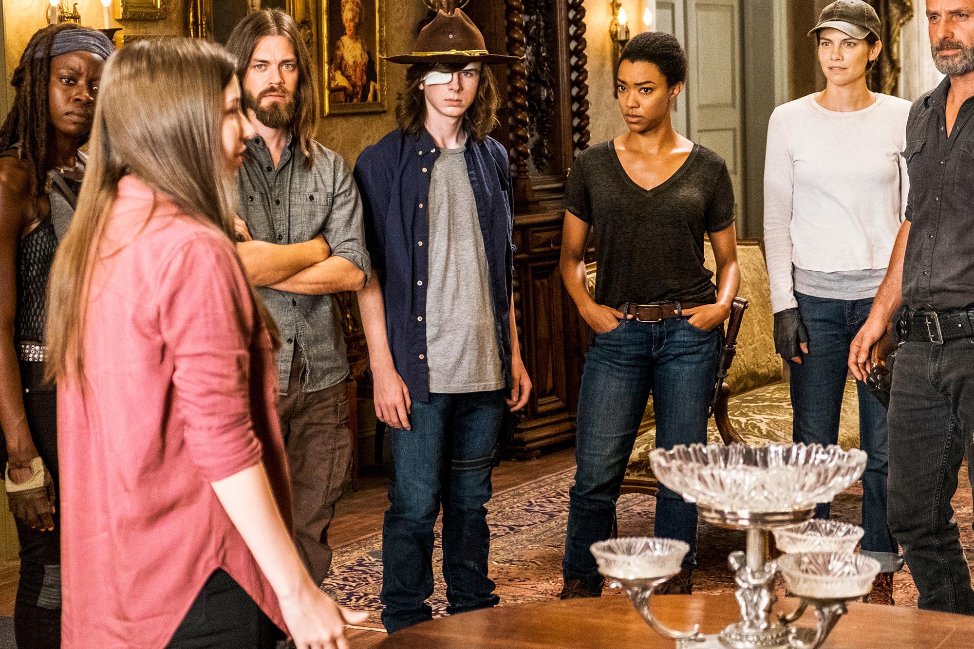 Walking Dead Season 7 Lauren Cohan Reveals Five Spoilers