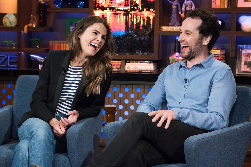 Keri Russell and Matthew Rhys on 'Watch What Happens Live'