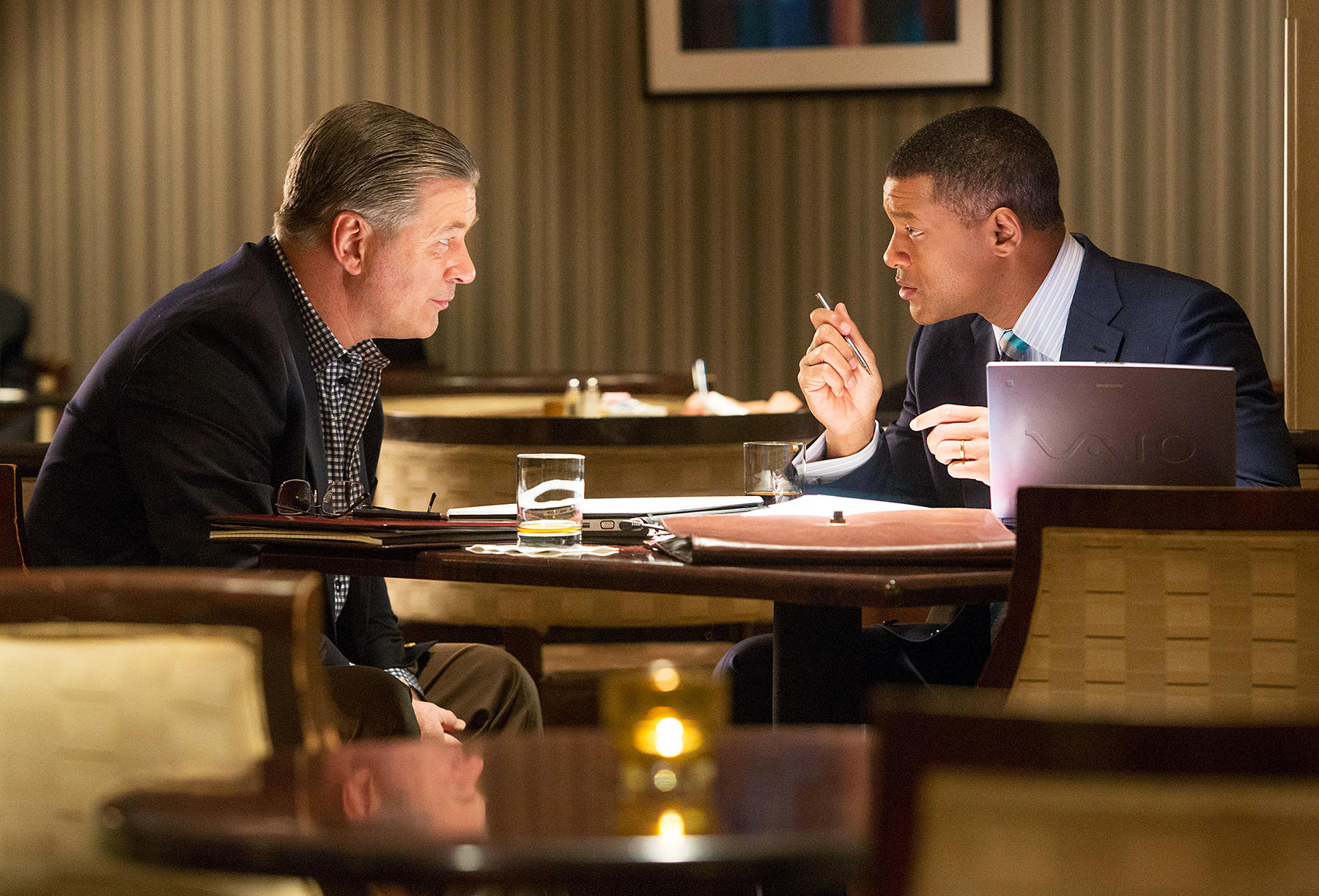 Alec Baldwin and Will Smith in