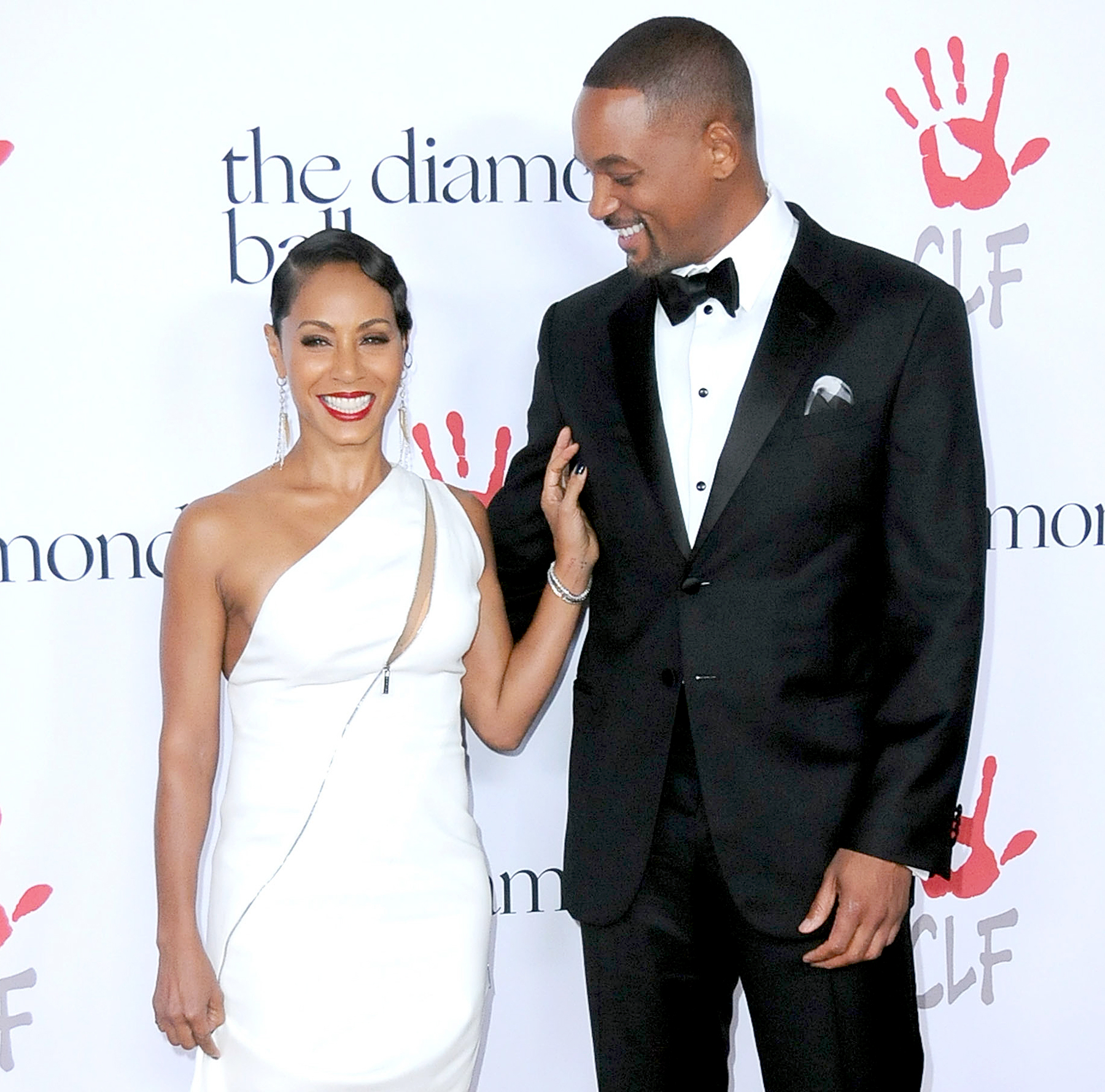 Jada Pinkett Smith and Will Smith attend the 2nd Annual Diamond Ball.