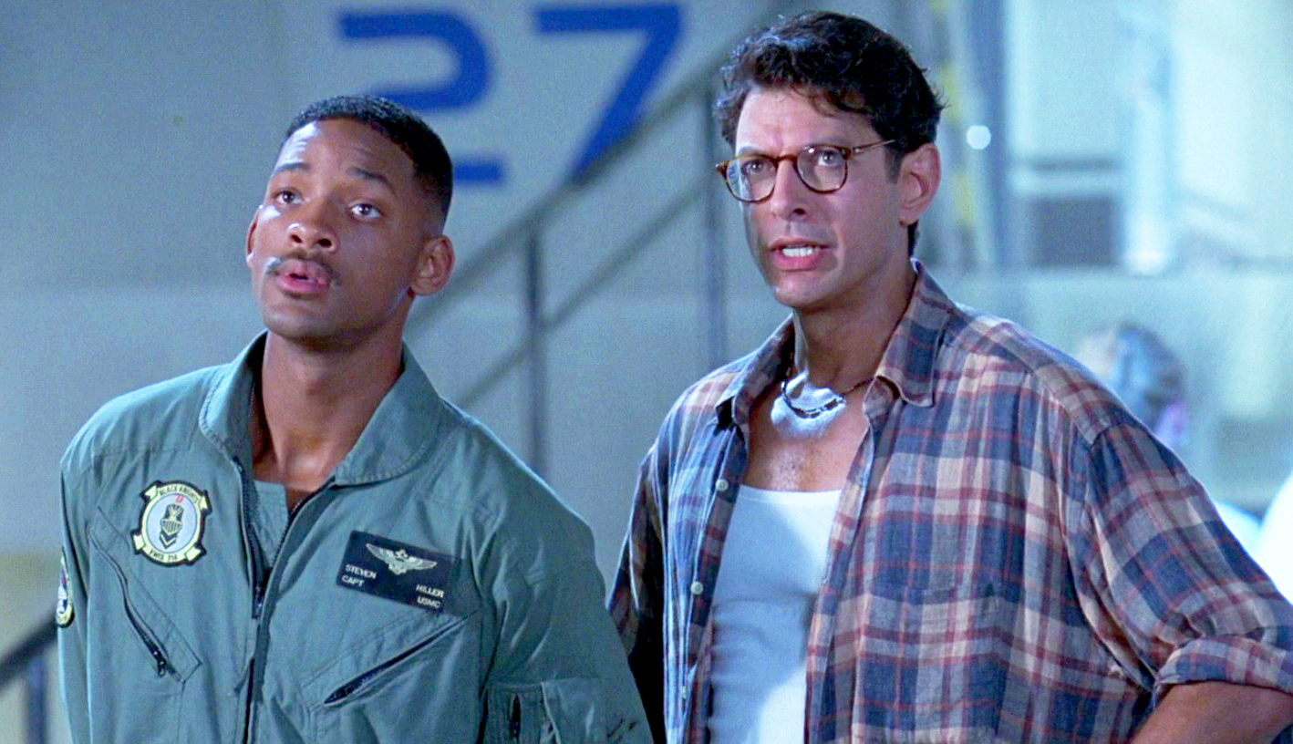 Will Smith and Jeff Goldblum Independence Day