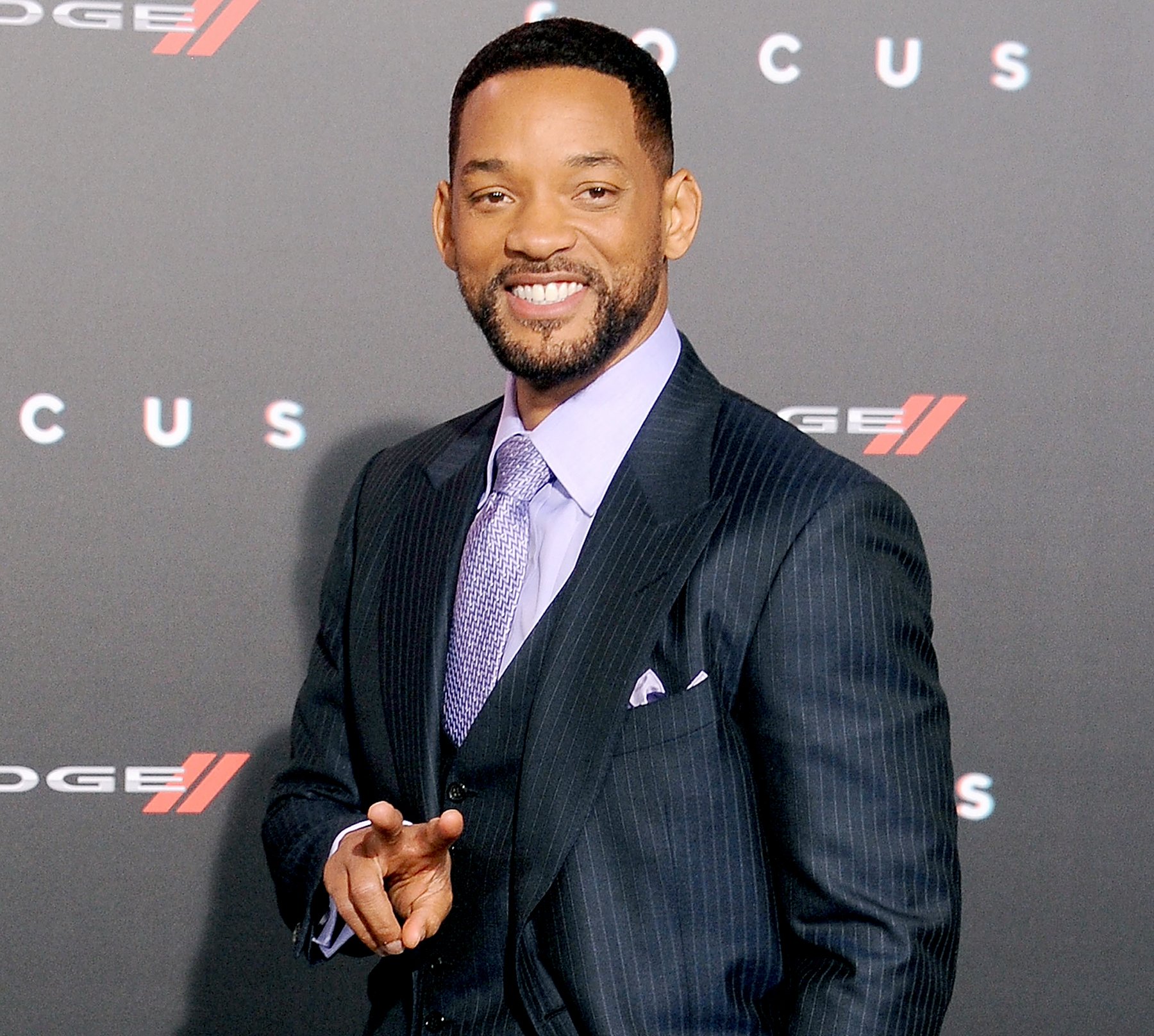 Will Smith arrives at the Los Angeles World Premiere of Warner Bros. Pictures