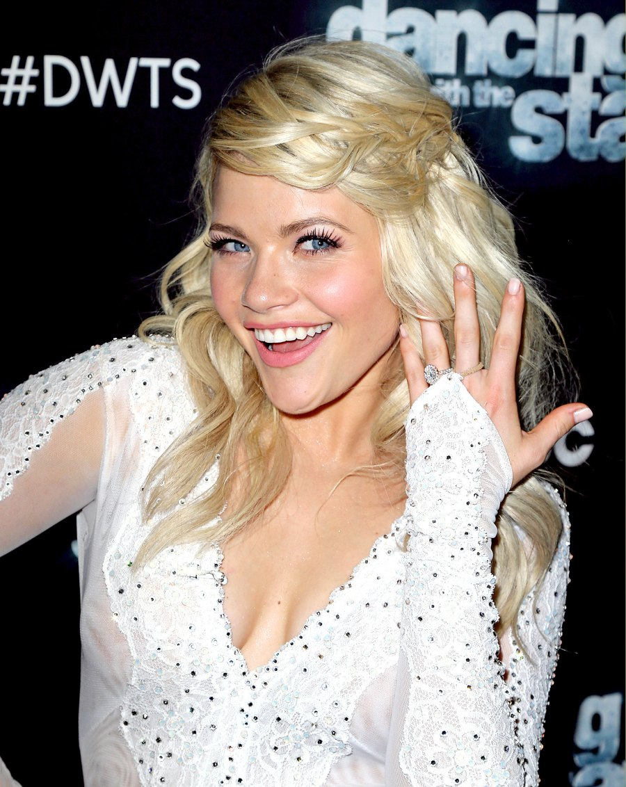 Witney Carson's engagement ring