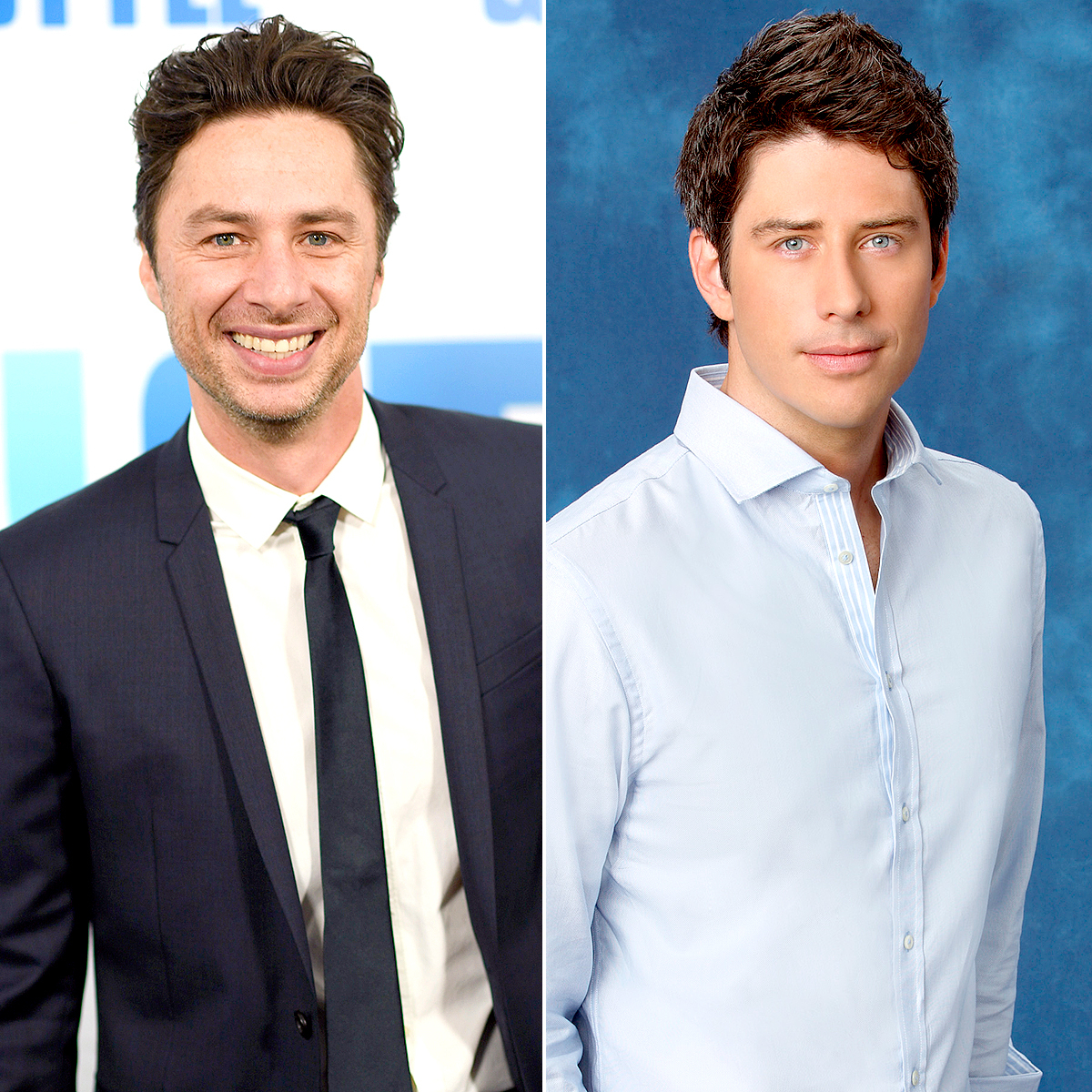 Zach Braff and Arie Luyendyk