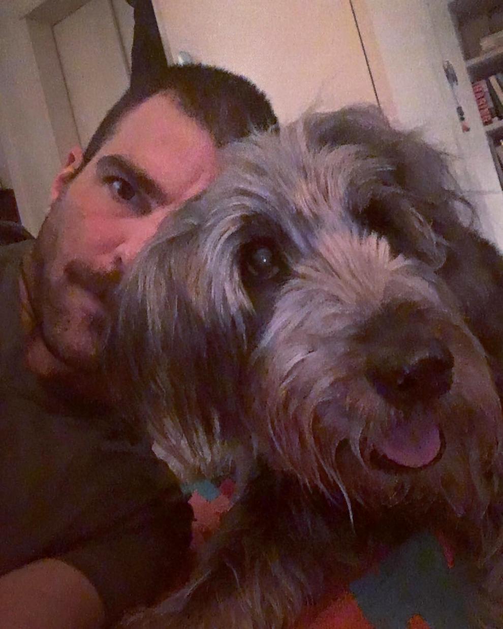 Zachary Quinto Noah dog