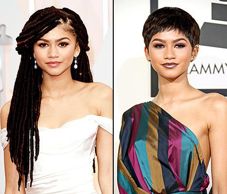 Zendaya hair - Oscars, Grammys