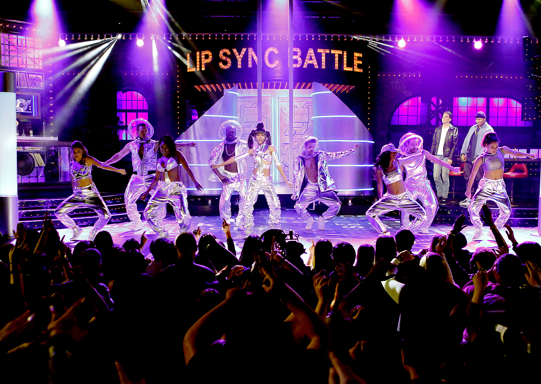 Zoe Saldana on 'Lip Sync Battle'